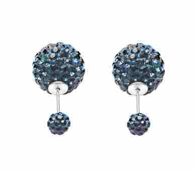Double Dots by Karma Montana Blue Crystal - 11011