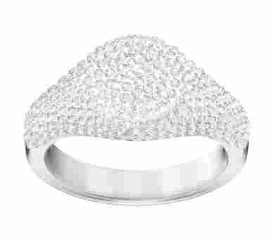 Swarovski Stone Ring Signet Silber