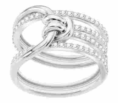Swarovski Lifelong Ring Silber