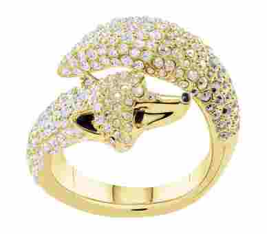 Swarovski March Fox Ring