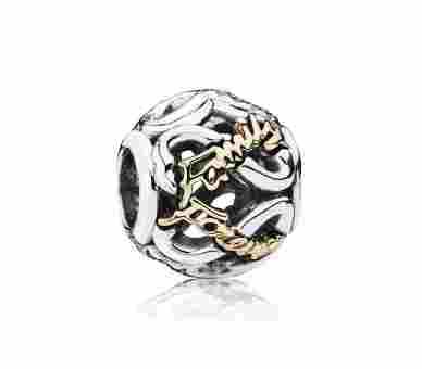 Pandora Familie für immer Charm - 791525CZ