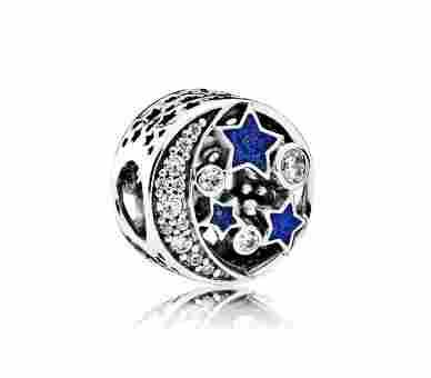 Pandora Vintage Nachthimmel Charm - 791992CZ