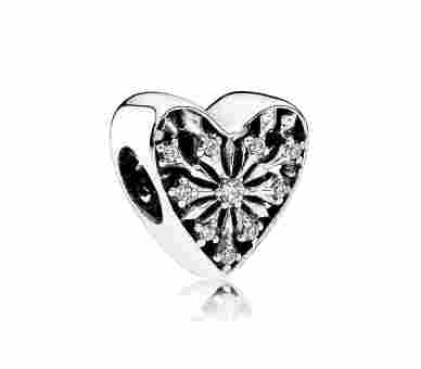 Pandora Charms/Beads Winter-Herz - 791996CZ