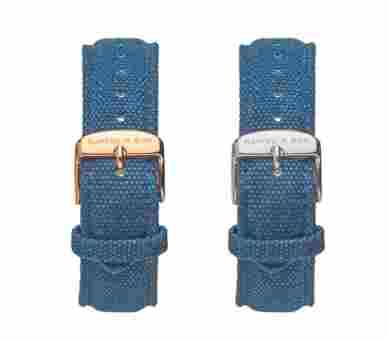 Kapten & Son Blue Canvas Strap