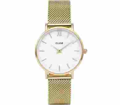 Cluse Minuit Mesh Gold - CL30010