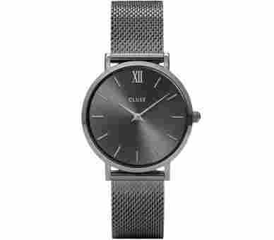 Cluse Minuit Mesh Grey - CL30067