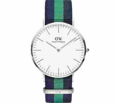 Daniel Wellington Classic Warwick Silver (40 mm) - DW00100019