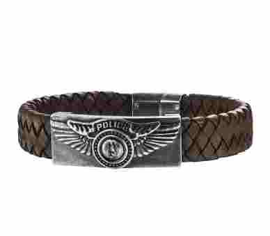 Police Freedom Armband - PJ25717BLC/02
