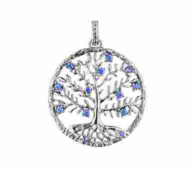 Julie Julsen Anhänger Crystal Tree (30 mm) - JJ8810.1