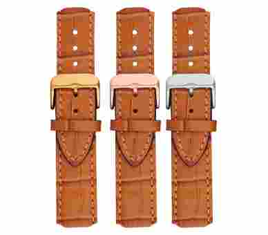 Paul Hewitt Watchstrap Leather Embossed Cognac