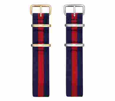 Paul Hewitt Watchstrap Nato Navy Blue-Red