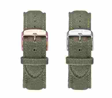 Kapten & Son Olive Canvas Strap