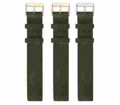 Paul Hewitt Watchstrap Perlon Olive Green