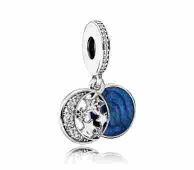 Pandora Vintage Nachthimmel Charm - 791993CZ