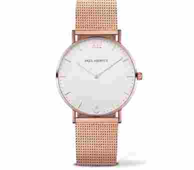Paul Hewitt Sailor Line White Sand Rose Gold Metal Rose Gold