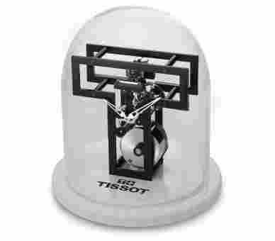 Tissot T-Clock Mechanical Table Watch - T855.942.39.050.00