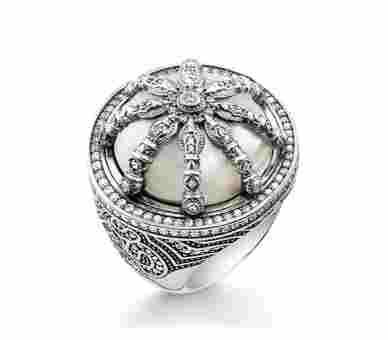 Thomas Sabo Ring Karma Beads - TR2025-642-14