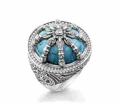 Thomas Sabo Ring Karma Beads - TR2025-646-17