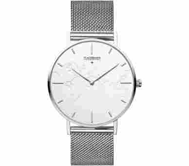 Flachsmann World Traveler 1 Mesh Silver White