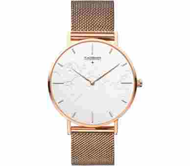 Flachsmann World Traveler 3 Mesh Rose Gold White