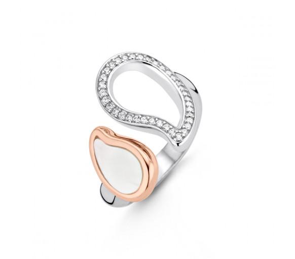 Ti Sento Milano Shimmering Lights Ring - 12156MR