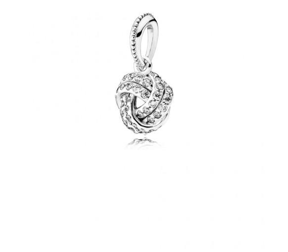 Pandora Anhänger Funkelnder Liebesknoten - 390385CZ