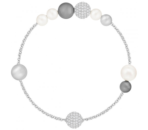 Swarovski Remix Collection Mixed Gray Crystal Pearl - 5365739