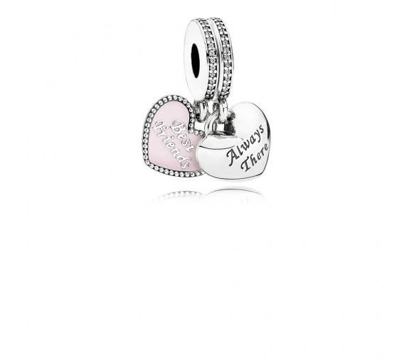 Pandora Best Friends Charm - 791950CZ