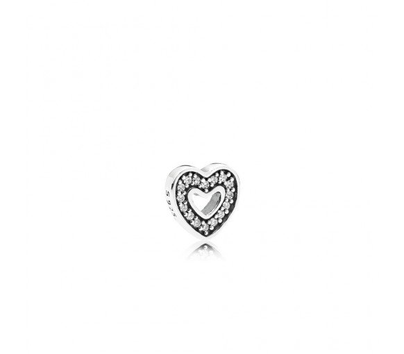 Pandora Captured Heart Petite Locket Medalion Elements - 792163CZ