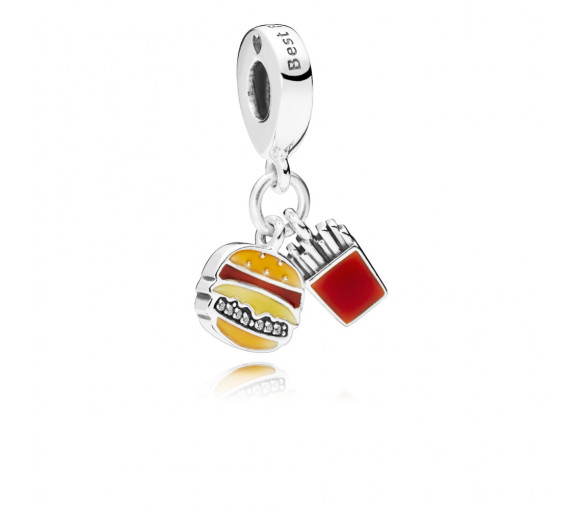 Pandora Burger & Fries Charm - 797211ENMX