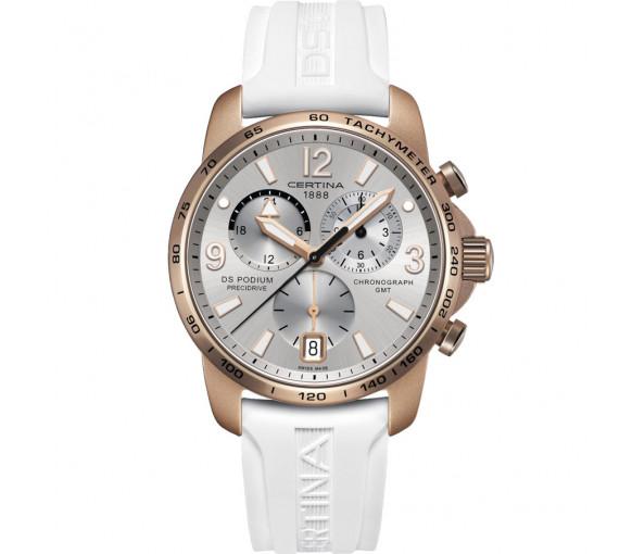 Certina DS Podium Chronograph GMT Aluminium - C001.639.97.037.01