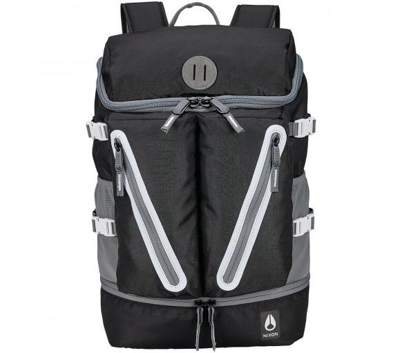 Nixon Scripps Backpack II Black White - C2821-005-00