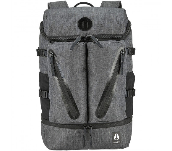 Nixon Scripps Backpack II Charcoal Heather - C2821-168-00