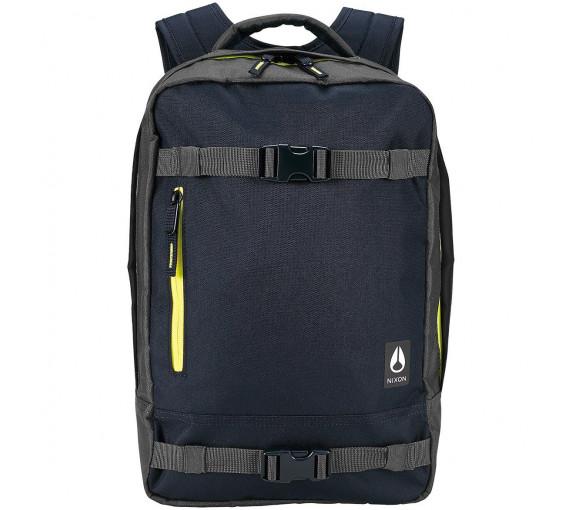 Nixon Del Mar Backpack II Black Dark Olive Volt - C2826-3059-00