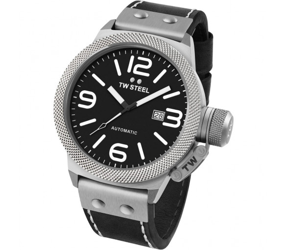 TW Steel Canteen Leather Automatic - CS6