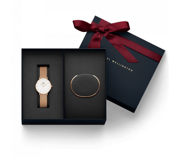 Daniel Wellington Classic Petite Melrose Gift Set (32 mm) - DW00500019