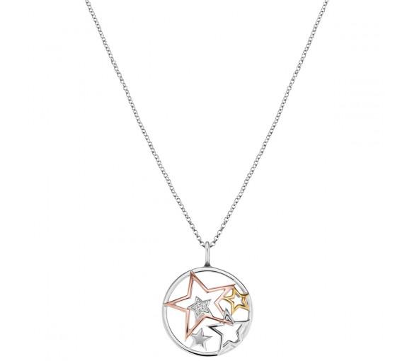 Engelsrufer Halskette Sterne Tricolor - ERN-STARS-TRICO-ZI