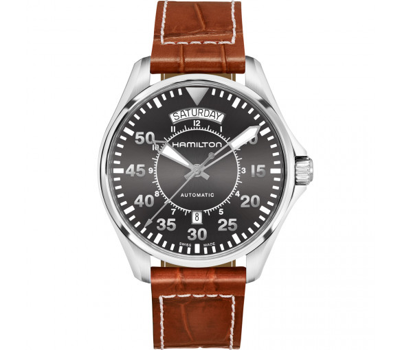 Hamilton Khaki Aviation Pilot Day Date Auto - H64615585