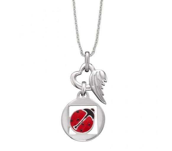 Herzengel Halskette Marienkäfer - HEN-08LUCK