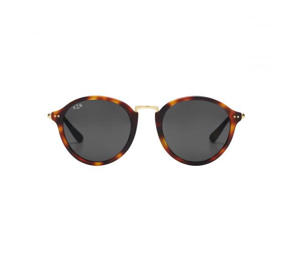 Kapten & Son Maui Matt Tortoise Black Glass - KS03-DTM-BKG