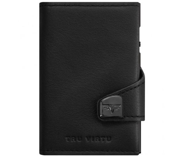 Tru Virtu Click & Slide Wallet Nappa Black Black - 24.10.4.0001.08