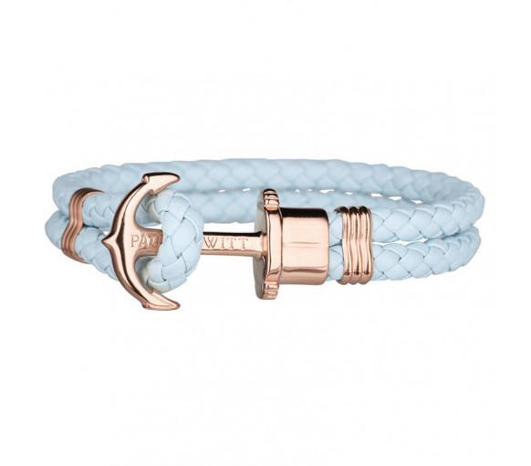 Paul Hewitt Anchor Bracelet Phrep Rose Gold Blue Sky - PH-PH-L-R-Bs