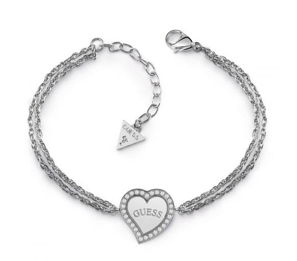 Guess Heart Warming Armband - UBB78096-S