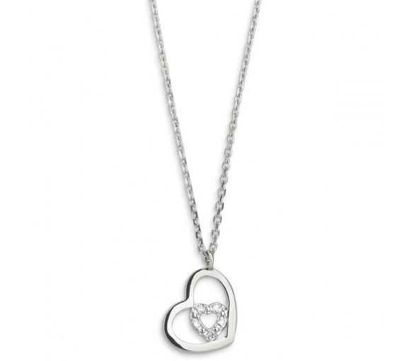 Xenox Heart Halskette - XG4200