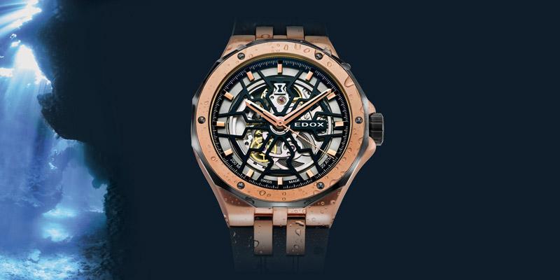 montres edox hommes