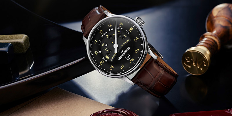 meistersinger men's watches