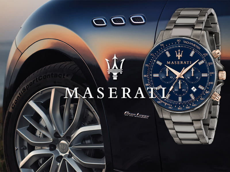 maserati watches & jewellery