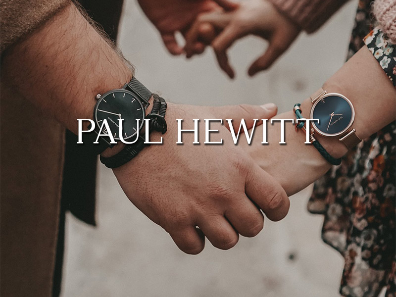 paul hewitt watches & jewellery