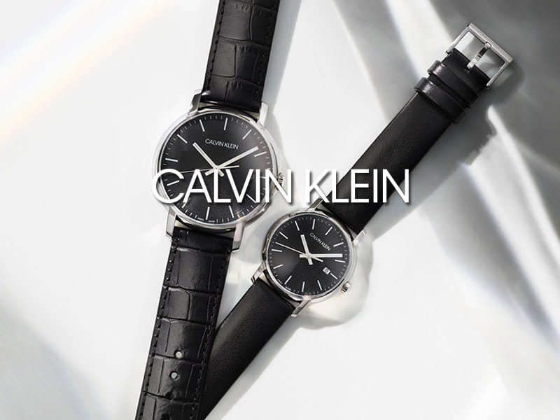 calvin klein watches & jewellery